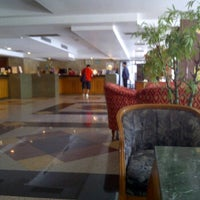 Photo taken at Grand Tower Inn Sathorn by Nathaphumin C. on 3/3/2012