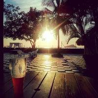Photo taken at Tamacá Beach Resort Hotel by Douglas G. on 7/17/2012