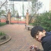 Photo taken at Sadler Center/ UC Terrace by Brian K. on 2/27/2012