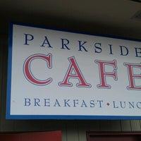 Photo taken at Parkside Cafe by Knarl S. on 8/4/2012