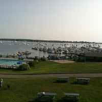 Photo taken at Champlin's Marina by mike P. on 8/17/2012