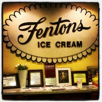 Photo taken at Fentons Creamery & Restaurant by Logan J. on 8/18/2012