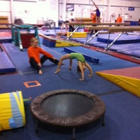 Photo taken at Gymquarters Gymnastics Center by LB P. on 4/14/2012