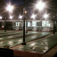 Photo taken at St. Petersburg Shuffleboard Club by Lee P. on 3/24/2012