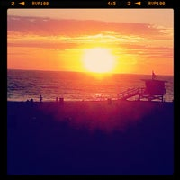 Photo taken at Manhattan Beach Pier by Lindsay T. on 8/17/2012