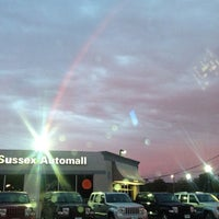 Photo taken at Franklin Sussex Auto Mall by mike R. on 9/8/2012