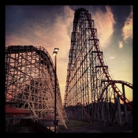 Photo taken at Dorney Park & Wildwater Kingdom by Roman V. on 8/22/2012