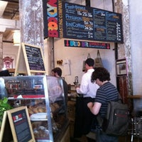 Photo taken at Brooklyn Roasting Company by Hide in D. on 5/30/2012