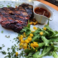 Photo taken at Restaurant Los Argentinos by Salomo J. on 7/7/2012