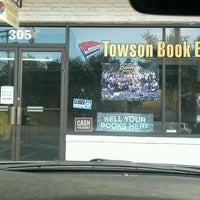 Photo taken at Towson Book Exchange by Onuabuchi O. on 3/13/2012