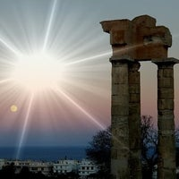 Photo taken at Ancient Stadium by George T. on 4/15/2012