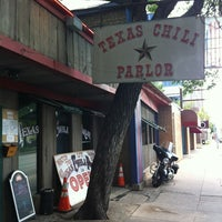Photo taken at Texas Chili Parlor by Nick G. on 4/11/2012