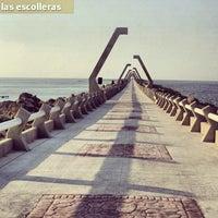 Photo taken at Las Escolleras by Carlos R. on 5/8/2012