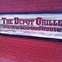 Photo taken at Depot Grille by Jamy M. on 5/10/2012