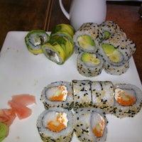 Photo taken at Okasama Sushi & Delivery by Bombom on 8/10/2012