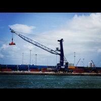 Photo taken at Port of Miami by Tara S. on 7/7/2012