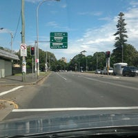 Photo taken at Anzac Parade by Sean S. on 3/4/2012
