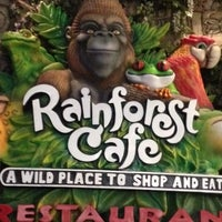Photo taken at Rainforest Cafe Dubai by Ana C. on 8/17/2012