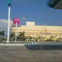 Photo taken at AEON Bandaraya Melaka Shopping Centre by Hatta Z. on 4/29/2012