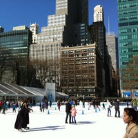 Photo taken at Bank of America Winter Village at Bryant Park by Mike H. on 2/18/2012