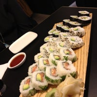 Photo taken at Sushibar + Wine by Tuuli T. on 4/21/2012