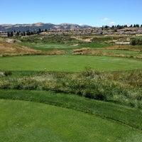 Photo taken at The Bridges Golf Club by Masahiro S. on 7/1/2012