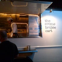 Photo taken at The Crème Brûlée Cart by Sas M. on 7/23/2012