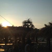 Photo taken at Villa Rosa - Bar Beach & Restaurant by Marco S. on 7/5/2012