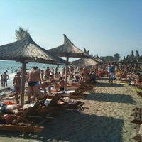 Photo taken at Plaja Neptun by Horia P. on 8/9/2012