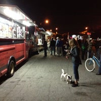 Photo taken at Santa Monica Food Truck Lot by Dustin L. on 3/14/2012
