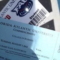 Photo taken at Florida Atlantic University (Davie Campus) by siilby on 8/1/2012