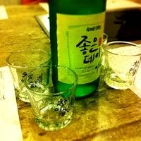 Photo taken at Mureungdowon Restaurant by Jane L. on 3/25/2012