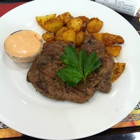 Photo taken at La Casa Argentina Fast Grill by Honza Z. on 2/24/2012