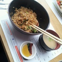 Photo taken at Wagamama by Agie K. on 8/4/2012