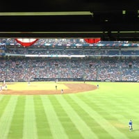 Photo taken at The Braves Chop House by Drew A. on 7/3/2012
