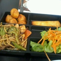 Photo taken at China in Box by Gyselle N. on 4/18/2012