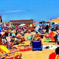 Photo taken at Asbury Park Beach by Susan R. on 7/22/2012