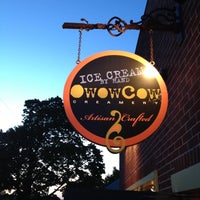 Photo taken at oWowCow Artisan Ice Cream by Laurie V. on 4/30/2012