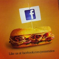 Photo taken at Penn Station East Coast Subs by Jeremy L. on 3/3/2012