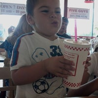 Photo taken at Five Guys by Meagan M. on 8/26/2012