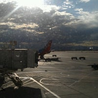 Photo taken at Gate C41 by Jo N. on 7/19/2012