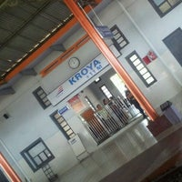 Photo taken at Stasiun Kroya by Yohanna I. on 4/12/2012