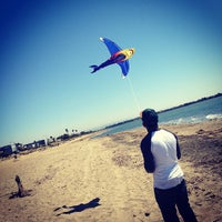 Photo taken at Robert W. Crown Memorial State Beach by Paul M. on 9/4/2012