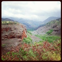 Photo taken at Hanapepe Canyon Lookout by Dirk M. on 8/29/2012