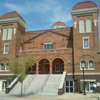 Photo taken at 16th Street Baptist Church by Andy T. on 8/16/2012