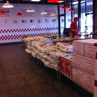 Photo taken at Five Guys by Pam B. on 7/1/2012