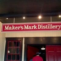 Photo taken at Maker's Mark Distillery by manuel on 3/4/2012