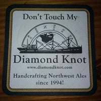 Photo taken at Diamond Knot Brewery & Alehouse by Chris A. on 5/26/2012