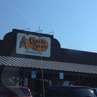 Photo taken at Cracker Barrel Old Country Store by Zack G. on 5/19/2012