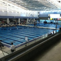Photo taken at Greensboro Aquatic Center by Amanda L. on 5/13/2012
